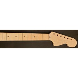 1pc Figured Maple U3 Guitar Neck