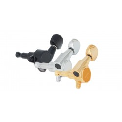 Gotoh Mini Tuning Keys, Chrome, 3+3
