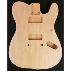 Mahogany Custom T Guitar Body