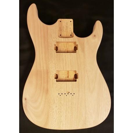 Mahogany Dinky S Guitar Body