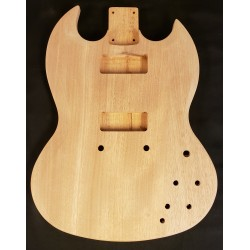 Mahogany Devilcut Guitar Body