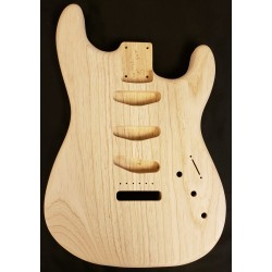 Lightweight Swamp Ash Rear Rout Strat Guitar Body