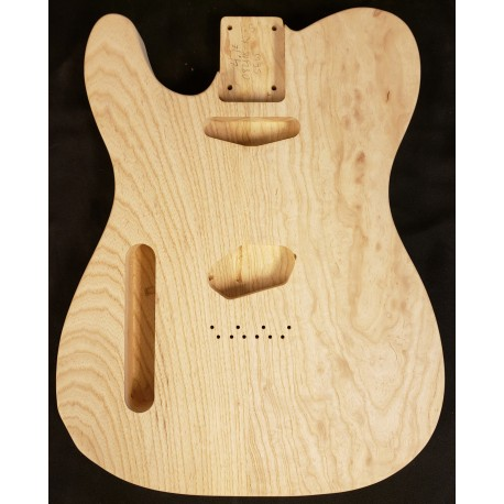 Lefty Swamp Ash Tele Guitar Body