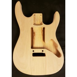 Alder 24 fret Dinky S Guitar Body