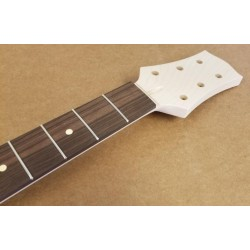 Maple/Rosewood Custom 3x3 Tilt Back Guitar Neck