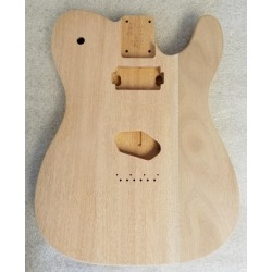 3pc Lightweight Mahogany T Guitar Body