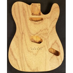 3pc Roasted Swamp Ash T Guitar Body