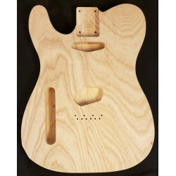 Left Handed Swamp Ash T Guitar Body