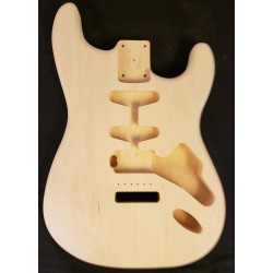 Basswood S Guitar Body