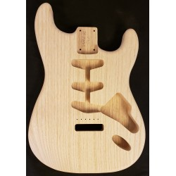 Lightweight Swamp Ash S Guitar Body
