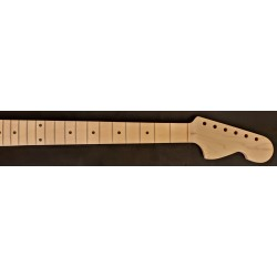"Maple/Maple 25"" Conversion Scale U3 Guitar Neck"