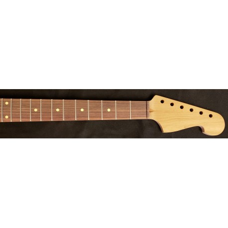 Roasted Maple/Rosewood JM6 Guitar Neck