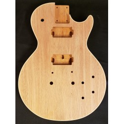 Mahogany Bound LP Guitar Body