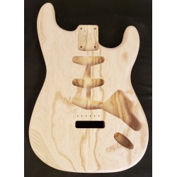 Swamp Ash S Guitar Body