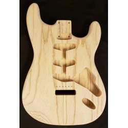 Lightweight Swamp Ash Standard S Guitar Body