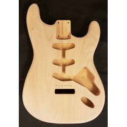 Alder Standard S Guitar Body