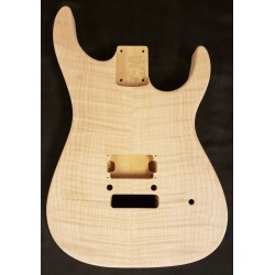 Alder/Flame Maple Dinky S Guitar Body