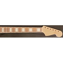 Maple/Rosewood Blocked and Bound JM6 Guitar Neck