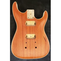 Padouk/Chambered Swamp Ash Dinky Strat Body