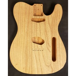 Lightweight Roasted Swamp Ash Tele body