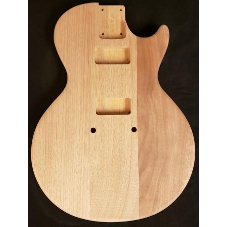 Mahogany LP Flattop Guitar Body