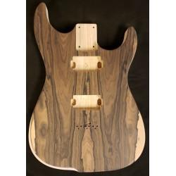 Ziricote/Swamp Ash Dinky Strat Guitar Body