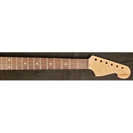 Maple/Rosewood Custom Headstock Guitar Neck